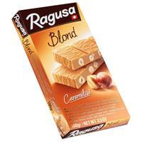 Ragusa Blond Caramélisé weisse Schokolade mit Haselnüssen 100g (1er Pack)