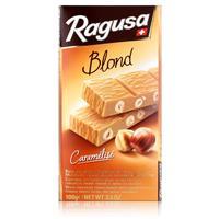 Ragusa Blond Caramélisé weisse Schokolade mit Haselnüssen 100g