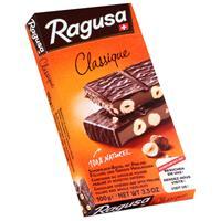 Ragusa Classique Schokolade-Riegel mit ganzen Haselnüssen 100g (1er Pack)