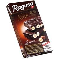 Ragusa Noir 60% dunkle Schokolade mit ganzen Haselnüssen 100g