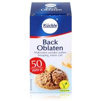 Küchle runde Back Oblaten Makronen 50mm Ø 37g