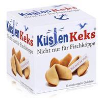 Küsten Keks 66g Nicht nur für Fischköppe - Weizengebäck mit Spruch (1er Pack)