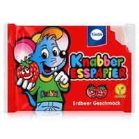 Küchle Knabber Esspapier rot Erdbeer Geschmack 25g Essoblaten (1er Pack)