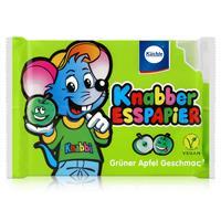 Küchle Knabber Esspapier grün Grüner Apfel Geschmack 25g Essoblaten (1er Pack)