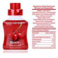 SodaStream Sirup Kirsch 375ml Flasche