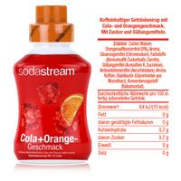 SodaStream Sirup Cola+Orange 500ml