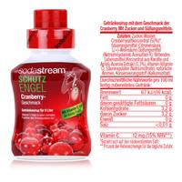 SodaStream Sirup Schutz-Engel Cranberry 375ml