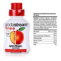 SodaStream Sirup free Apfel-Pfirsich 375ml