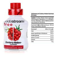 SodaStream Getränke-Sirup free Cranberry-Himbeer Geschmack 375ml