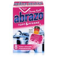 abrazo Topf & Pfanne Reinigungskissen - Die rosa Kraft (1er Pack)