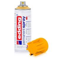 edding Permanent Spray sonnengelb 200 ml Premium Acryllack, RAL 1037