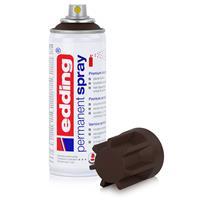 edding Permanent Spray schokoladenbraun 200 ml Acryllack, RAL 8017