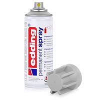 edding Permanent Spray lichgrau 200 ml Premium Acryllack, RAL 7035
