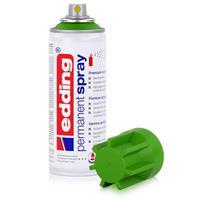 edding Permanent Spray gelbgrün 200 ml Premium Acryllack, RAL 6018