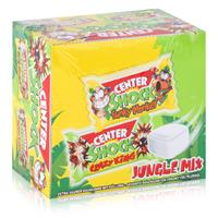 Center Shock Crazy King Jungle Mix 100 Stück - Saurer Kaugummi 400g (1er Pack)