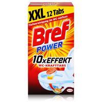 Henkel Bref Power 10x Effekt WC-KraftTabs 12 Tabs Toiletten Reiniger (1er Pack)