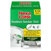 Nexa Lotte Mückenstecker 3in1