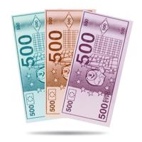 Mampfi Esspapier Geldscheine Cash 120 Oblaten 240g (1er Pack)