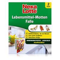 Nexa Lotte Lebensmittel-Motten Falle 2 Stück - insektizidfrei