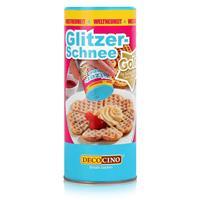 Dekoback Decocino Glitzer-Schnee Gold 100g - Gefärbtes Dekorierpuder (1er Pack)