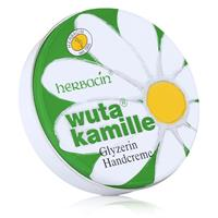 Herbacin Wuta Kamille Glyzerin Handcreme 75ml Dose - Farbstoff-frei ( 1er Pack )