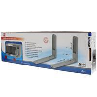 SCANPART Microwellenhalterung silber (1er Pack)
