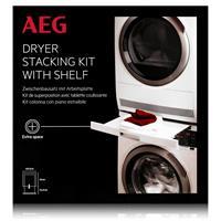 AEG SKP11GW Zwischenbausatz für Wasch-Trocknersäule mit Auszugsplatte