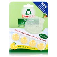 Frosch Zitronen WC-Frische-Spüler 42g - Reinigend mit Zitronenfrische (1er Pack)