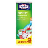 Toppits Zipper Allzweck-Beutel 20x15cm