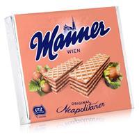 Manner Wien Neapolitaner 75g - Waffeln mit Haselnussfüllung (1er Pack)