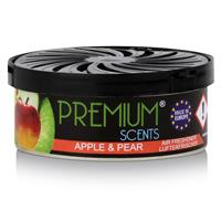 Premium Scents Auto Lufterfrischer Apple & Pear -  Mit Regulierdeckel (1er Pack)