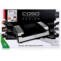 CASO FastVac 500 Vakuumierer - Vakuumiergerät - Vakuumiersystem inkl. 2 Rollen