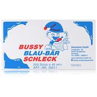 Bussy Blau-Bär Schleck 200 Stück á 40ml - Auch als Stangeneis (1er Pack)
