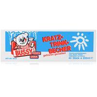 Bussy Kratz Trink-Becher 40 Stück á 200ml - gefroren genießen (1er Pack)