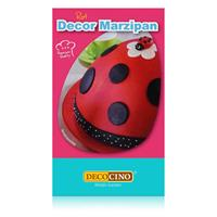 Dekoback Decocino Decor Marzipan Rot 200g - Ideal zum Modellieren