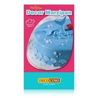 Dekoback Decocino Decor Marzipan Hellblau 200g -Ideal zum Modellieren