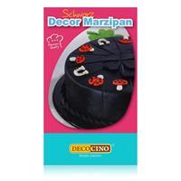 Dekoback Decocino Decor Marzipan Schwarz 200g - Ideal zum Modellieren