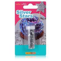 Dekoback Decocino Silver Stars 1,5g - Essbares Streudekor