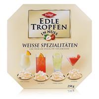 Trumpf Edle Tropfen in Nuss Weisse Spezialitäten 250g - Mit Alkohol