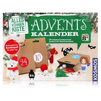 Kosmos Adventskalender - 24 Überraschungstüten mit Bastelmaterial (1er Pack)