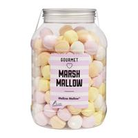 Mellow Marsh-Mallow Tropfen in der Retrodose 720g Schaumzuckerware