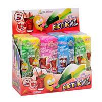 Flic'n'lic Lutscher XL Zungenfärber mit fruchtigem Geschmack 12 Stk.