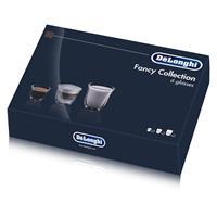 Delonghi Fancy Box 6er Set Thermo Gläser - Espresso, Cappuccino, Latte Macchiato