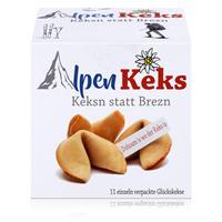 Alpen Keks 66g Weizengebäck mit Spruch - Keksn statt Brezn