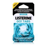 Listerine Go! Tabs 4 Kautabletten