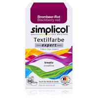 Simplicol Textilfarbe expert Brombeer-Rot