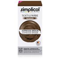 Simplicol Textilfarbe intensiv Espresso-Braun