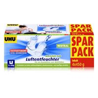 Uhu Air Max Ambiance Luftentfeuchter Tabs Neutral 4x450g