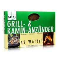 Styx Ökoline Grill & Kamin Anzünder 32 Würfel