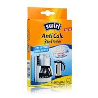 Swirl Anti Calc 3in1 Tablets Entkalkung und Reinigung für Kaffeemaschinen